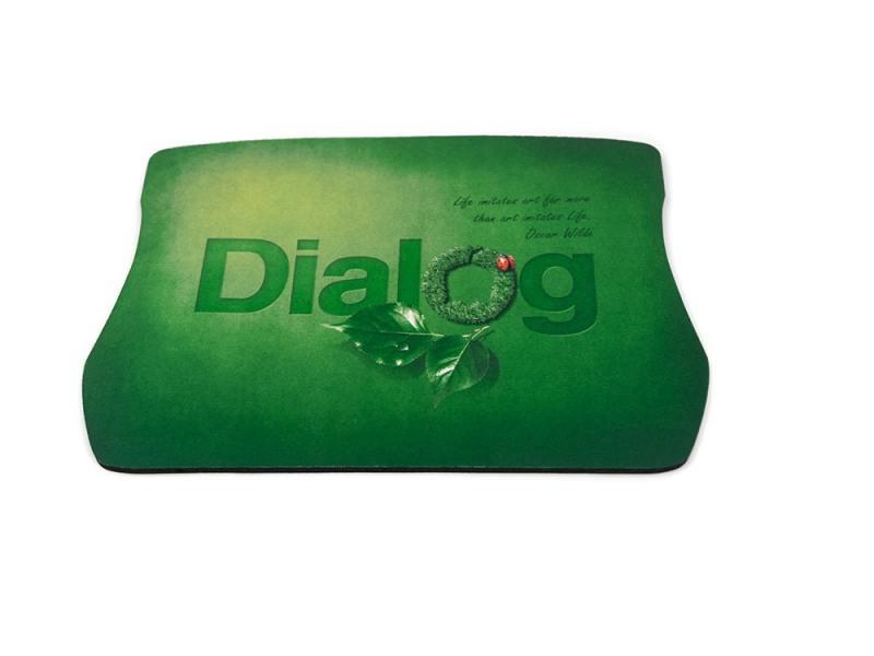 Коврик для мыши Dialog PM-H20 зеленый с рисунком коврик dialog pm h17 fish