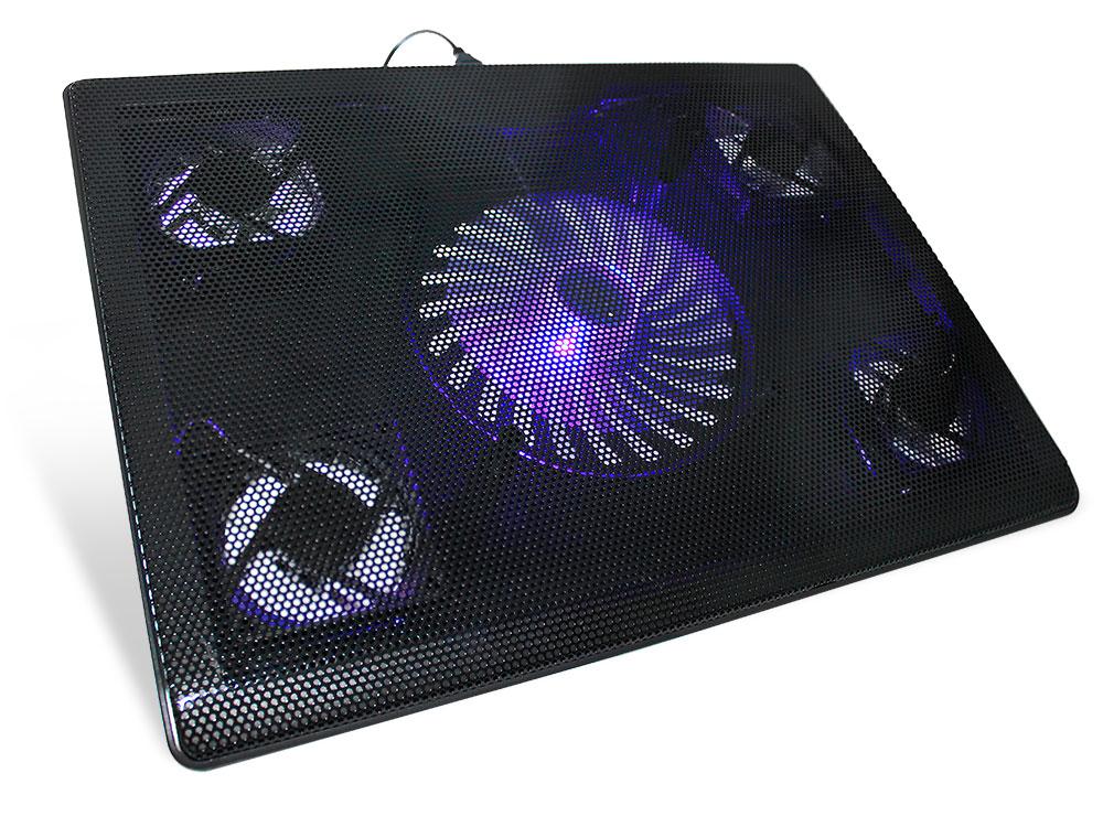 цена на Подставка для ноутбука 17 Crown CMLC-205T 390x290x25mm USB черный