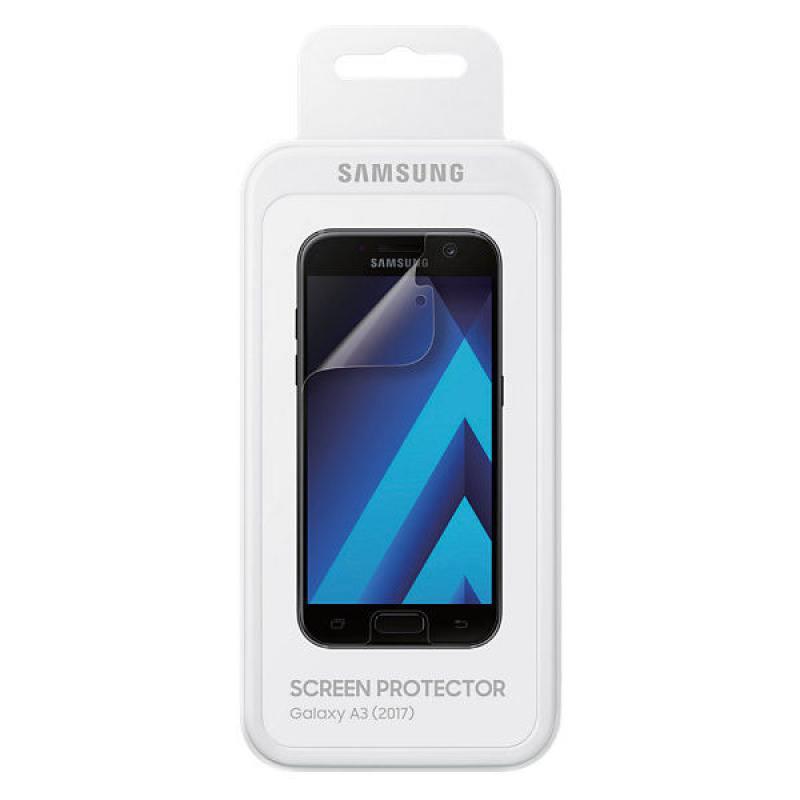 Пленка защитная прозрачная Samsung ET-FA320CTEGRU для Samsung Galaxy A3 2017 цена