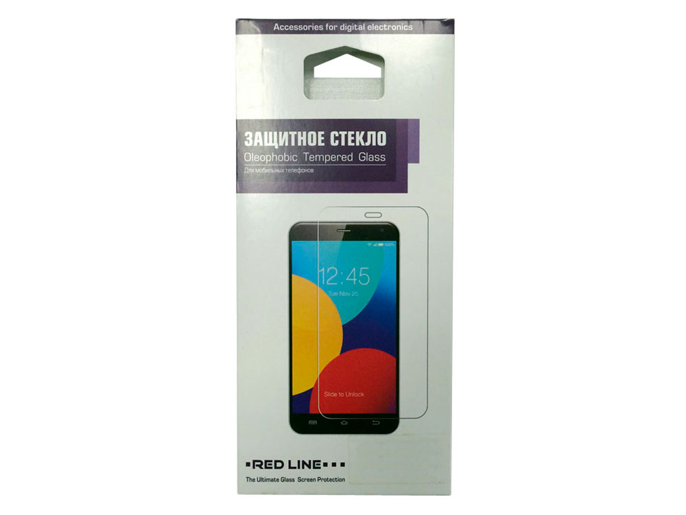 Защитное стекло Red Line для Huawei Honor 5A УТ000009304 сотовый телефон huawei honor 5a black