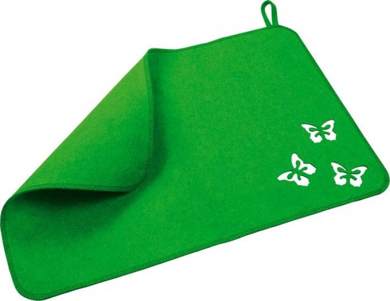 Коврик Банные штучки 41129 Бабочки маска для лица банные штучки питательная маска для лица банные штучки 2 шт