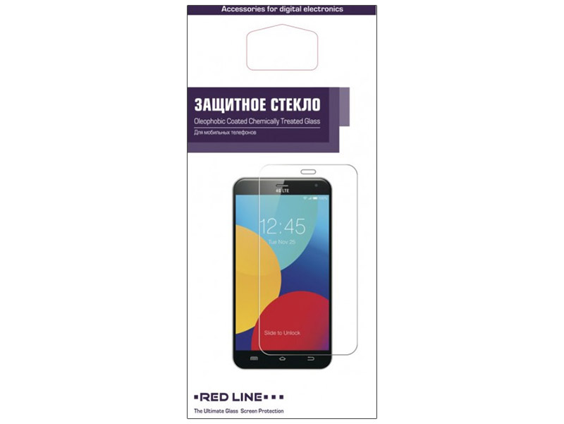 Защитное стекло Red Line для Huawei Y3II УТ000009142 iwona red 24 inches