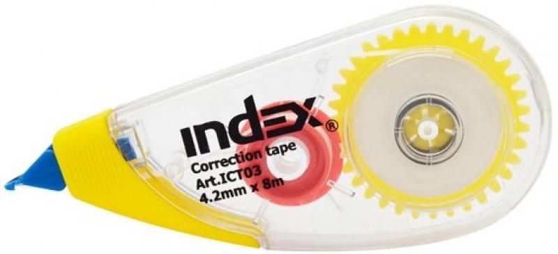 Корректирующая лента Index ICT03 коврики в салон norplast для fiat 500 2008 npl po 21 02 черный