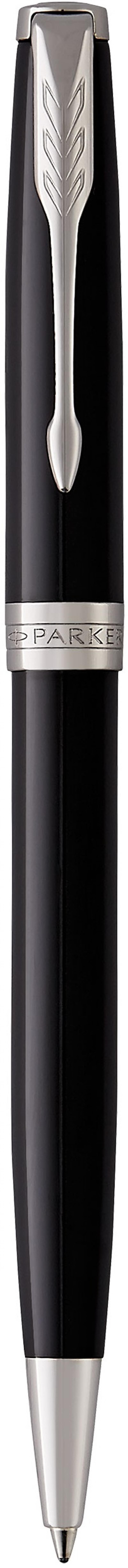 Шариковая ручка поворотная Parker Sonnet Core K530 LaqBlack CT черный M 1931502 ручка шариковая parker sonnet k530 s0808830 laqblack ct m черные чернила подар кор