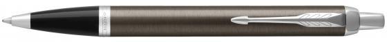 Ручка шариковая Parker IM Core K321 Dark Espresso CT M чернила черные 1931671 шариковая ручка parker im matte blue ct