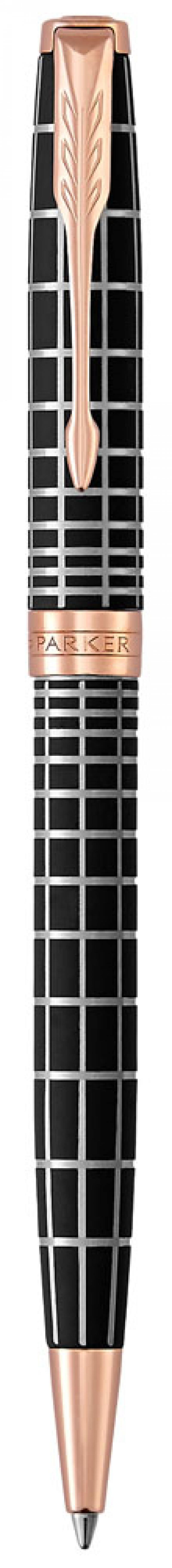 Шариковая ручка поворотная Parker Sonnet Premium K531 Masculine Brown PGT черный M 1931483 шариковая ручка поворотная parker sonnet core k527 stainless steel gt черный m 1931507