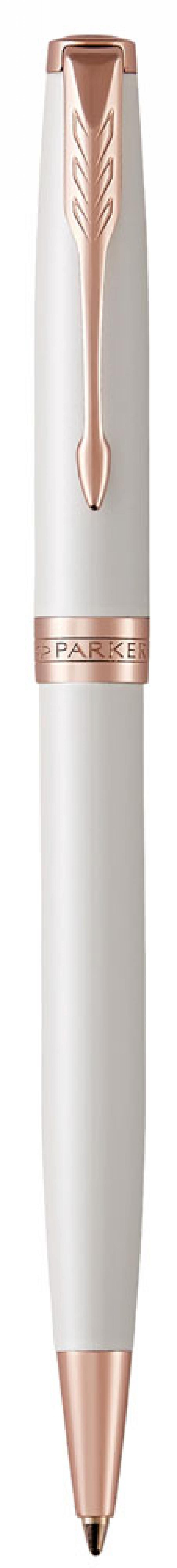 Шариковая ручка поворотная Parker Sonnet Premium K540 Pearl PGT черный M 1931555 шариковая ручка поворотная parker sonnet core k527 stainless steel gt черный m 1931507