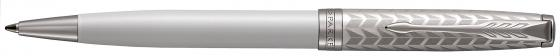 Ручка шариковая Parker Sonnet Premium K540 Metal&Pearl PGT CT M чернила черные 1931550 parker ручка 5th mode ingenuity slim taupe and metal pgt
