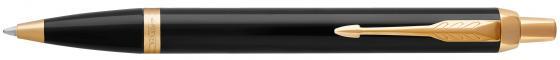 Ручка шариковая Parker IM Core K321 Black GT M чернила синие 1931666 parker ручка шариковая im black gt цвет черный золотистый