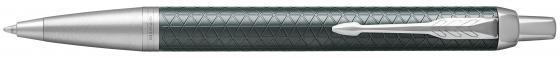 Ручка шариковая Parker IM Premium K323 Green CT M чернила синие 1931643 шариковая ручка parker im matte blue ct