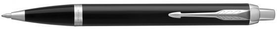 Ручка шариковая Parker IM Core K321 Black CT M чернила синие 1931665 parker ручка перьевая im black ct черный корпус хром детали синие чернила перо f