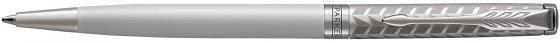Ручка шариковая Parker Sonnet Premium Slim K440 Metal&Pearl PGT CT M чернила черные 1931551 parker ручка 5th mode ingenuity slim taupe and metal pgt