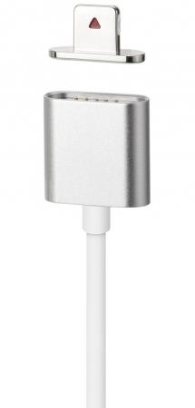 Кабель Moizen Magnetic Charging Cable для iPhone серебристый 1.2м SNAP-C1A-1-SI аксессуар ainy magnetic charging cable кабель for sony xperia z1 z2 z3 black violet