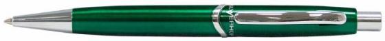 Ручка шариковая Silwerhof Welle корпус зеленый чернила синие + коробка 025039 ручка шариковая carandache office infinite 888 253 gb swiss cross m синие чернила подар кор