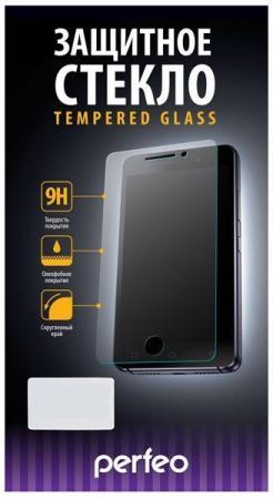 Защитное стекло Perfeo для черного iPhone 6/6S глянцевое PF-TGFSCGG-IPH6-BLK аксессуар защитное стекло snoogy 3d glass для apple iphone 6 6s black sn tg 3d iph6 6s blk