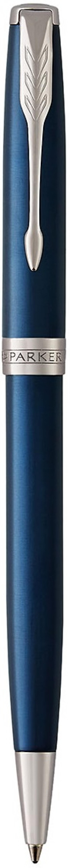 Шариковая ручка поворотная Parker Sonnet Core K539 LaqBlue CT черный M 1931536 шариковая ручка поворотная parker sonnet core k527 stainless steel gt черный m 1931507
