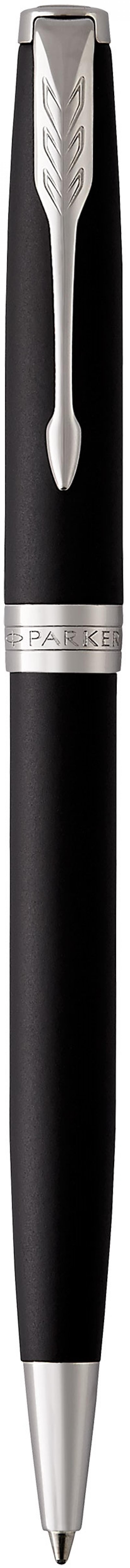 Шариковая ручка поворотная Parker Sonnet Core K529 Matte Black CT черный M 1931524 шариковая ручка поворотная parker sonnet core k527 stainless steel gt черный m 1931507