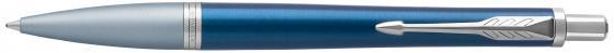 Ручка шариковая Parker Urban Premium K310 Dark Blue CT M чернила синие 1931565 ручка роллер parker urban t200 s0850460 night sky blue ct f черные чернила подар кор