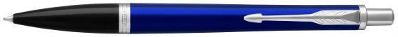 Ручка шариковая Parker Urban Core K309 Nightsky Blue CT M чернила синие 1931581 ручка роллер parker urban t200 s0850460 night sky blue ct f черные чернила подар кор