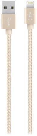 Кабель Belkin F8J144bt04-GLD Lightning to USB 1.2m золотой кабель nym j 3х6 0 5м гост