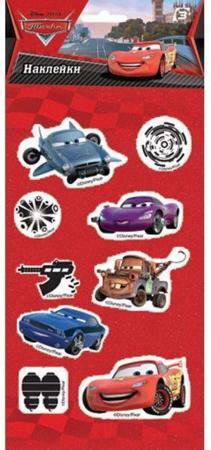 Наклейки объемные ACTION! CARS 17,5*9см 10 cars lot 100