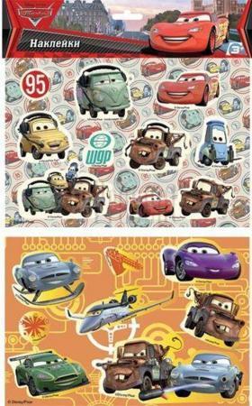Наклейки объемные ACTION! CARS 21*14,5см 10 cars lot 100