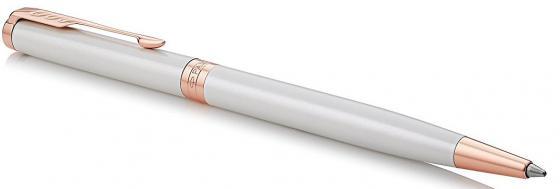 Шариковая ручка поворотная Parker Sonnet Premium Slim K440 Pearl PGT черный M 1931556 parker ручка 5th mode ingenuity slim taupe and metal pgt