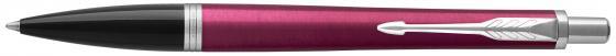 Ручка шариковая Parker Urban Core K309 Vibrant Magenta CT M чернила синие 1931582 parker ручка перьевая urban night sky blue ct синяя