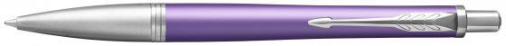 Ручка шариковая Parker Urban Premium K311 Violet CT M чернила синие 1931623 parker urban premium metallic pink s0949260