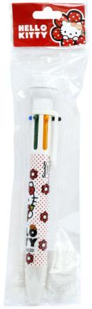 Картинка для Ручка шариковая ACTION!, Hello Kitty, многоцветная, 6 цветов, со штампиком