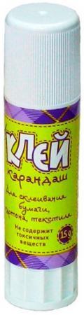 Клей-карандаш Глобус ШКОЛЬНИК, 15 г цена 2017