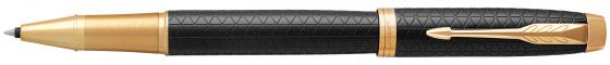 Ручка-роллер Parker IM Premium T323 Black GT черный F 1931660 ручка роллер parker im premium t323 1931686 grey gt f черные чернила