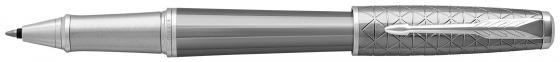 Ручка-роллер Parker Urban Premium T313 Silvered Powder CT F чернила черные 1931586