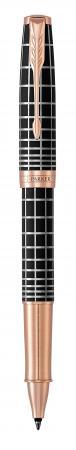 Ручка-роллер роллер Parker Sonnet Premium T531 Masculine Brown PGT черный F 1931482