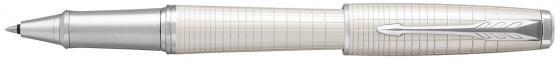 Ручка-роллер Parker Urban Premium T312 Pearl Metal CT F чернила черные 1931610 parker urban premium metallic pink s0949260