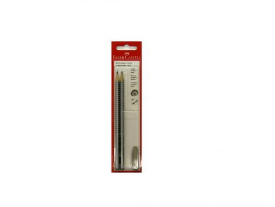 Карандаш чернографитный Faber-Castell Grip 2001 HB/B ластик колпачок 2 шт+1шт 263301 платье rinascimento rinascimento ri005ewvtq81