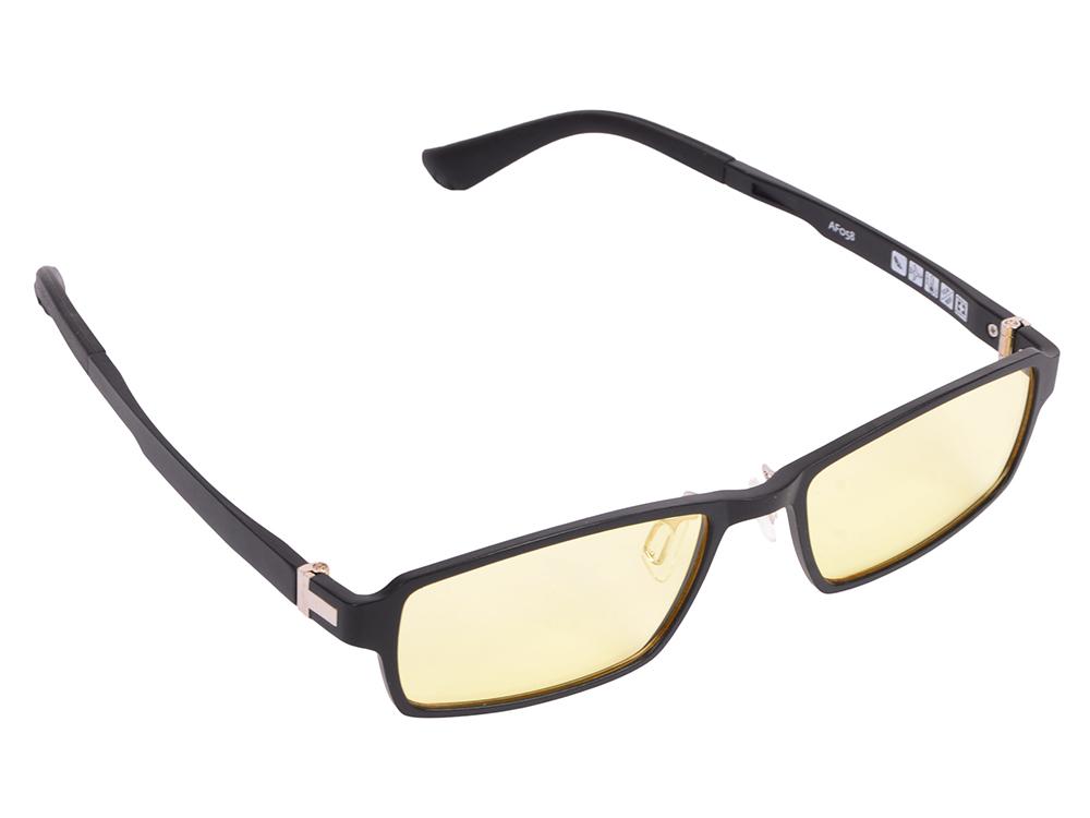 """Очки SP Glasses AF058 компьютерные (""""exclusive"""", черный) в футляре с салфеткой"""