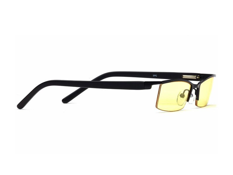 Очки SP Glasses AF035 компьютерные (luxury, черный) в футляре с салфеткой