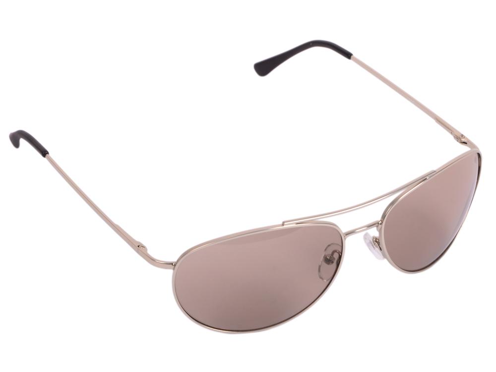 """Очки SP Glasses AS003 водительские (непогода """"comfort"""", серебро) в футляре с салфеткой"""