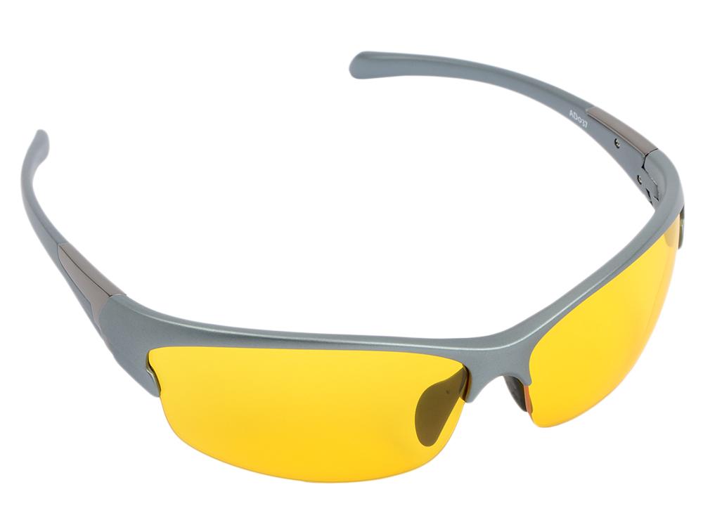 """Очки SP Glasses AD037 для активного отдыха (непогода """"premium"""", серый) в футляре с салфеткой"""