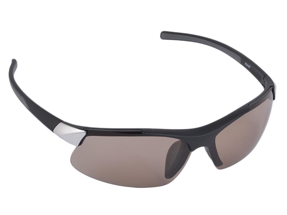 Очки SP Glasses AS047 для активного отдыха (солнце premium, черно-серебристый) в футляре с салфеткой очки для страховки belay glasses belay glasses