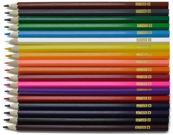 Набор цветных карандашей Action! Hello Kitty 18 шт набор цветных карандашей action hello kitty 18 шт