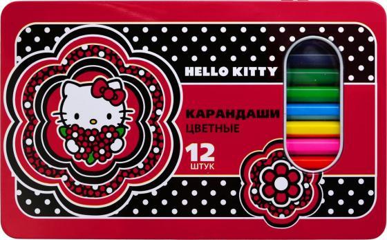 Набор цветных карандашей Action! Hello Kitty 12 шт набор цветных карандашей action hello kitty 18 шт