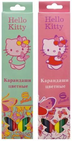 Набор цветных карандашей Action! Hello Kitty 6 шт набор цветных карандашей action hello kitty 18 шт
