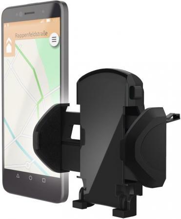 Держатель Hama H-178250 для телефона универсальный шириной от 45 до 90 мм черный держатель hama bike holder для телефона магнитный черный 00178251