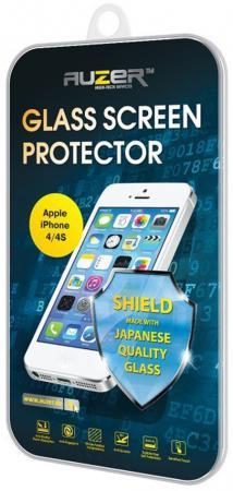 Защитное стекло Auzer AG-SAI 4 для iPhone 4 iPhone 4S 0.33 мм