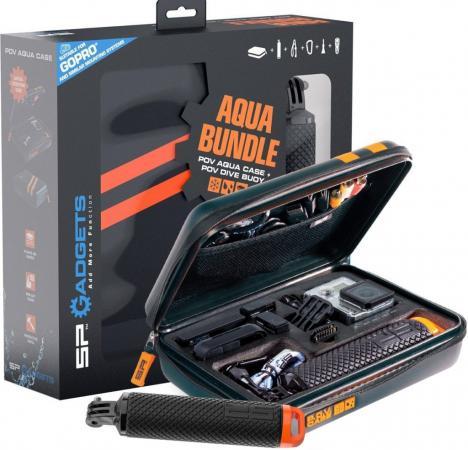 Набор SP-Gadgets SP 53090 кейс водонепроницаемый + монопод-поплавок монопод sp gadgets remote pole black 99 см