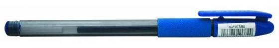 Гелевая ручка Index I-STYLE, пластиковый тонированный корпус, 0,5мм, синяя, инд. пакет с подвесом I ручка virno style