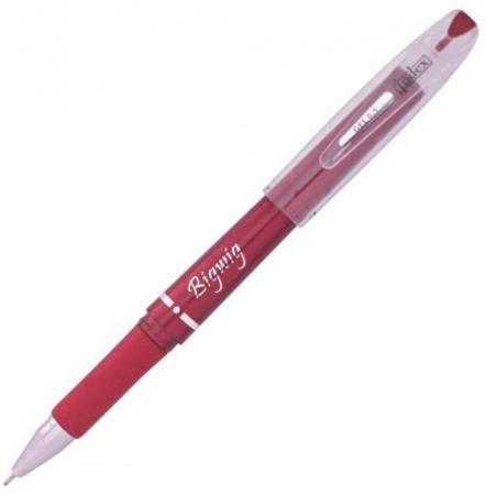 Гелевая ручка Index Bigwig пластиковый корпус, пластиковый корпус,красная, 0,5мм IGP104/RD xin sheng ручка гелевая красная