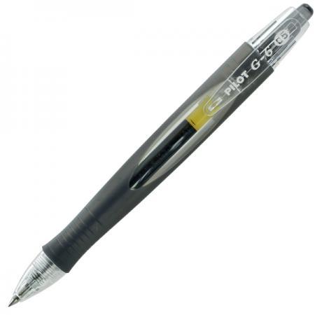 Гелевая ручка автоматическая Pilot G-6 черный 0.5 мм BL-G6-5-B мобильный телефон jiayu g6 mtk 6592 octa core 2 16 13 0mp android 3 g wcdma 5 7 ips 1920 1080